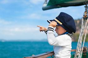 Segeln Eltern mit Kinder Cote d'Azur