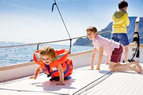 Korfusegeln für Familien Ionische Inseln