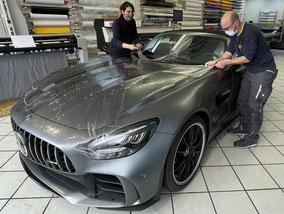 Lackschutz Mercedes GT-R