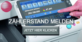 Melden Sie jetzt die Zählerstände Ihrer Geräte Online auf der Website von Bürotechnik Stroh GmbH. Leicht, unkompliziert und sicher. Sie müssen nur das Formular ausfüllen und abschicken.