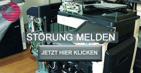 Ihr Gerät macht Ihnen Probleme? Melden Sie jetzt Ihre Störung einfach und bequem auf der Homepage von Bürotechnik Stroh GmbH. Einfach, schnell und unkompliziert. Einfach das Formular ausfüllen und abschicken. Bürotechnik Stroh GmbH behebt Ihre Störung.