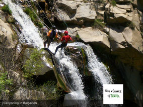 Canyoning in Bulgarien