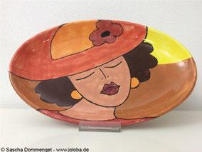 Joloba Berlin Friedrichshain Sascha Dommenget Keramik Teller Glasur Malen Unikat