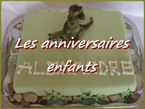 photo gâteau anniversaire enfant