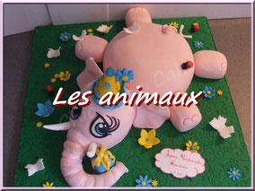 photos gâteaux sur le thème des animaux
