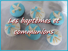 photo gâteau cupcake biscuit baptème communion