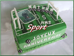 sport, gâteau, cupcake, biscuit, cake design, pâte à sucre