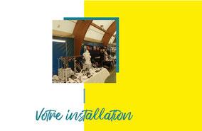 Image renvoyant vers la page de votre installation, indiquant les modalités d'installation.