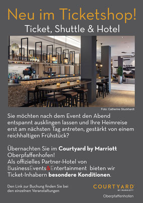Ticket Shuttle und Hotel
