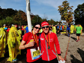 Sind bei der Registrierung am 18. Oktober dabei - Moni und Steffen