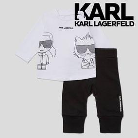 Karl Lagerfeld enfant à Cassis boutique Tête à Toto