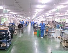 オリテック生産部門の完成品組立て