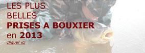 les plus grosses carpes à Bouxier en 2013