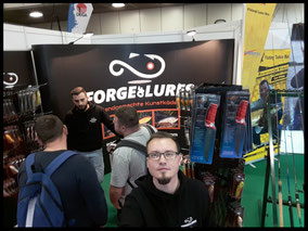Forge of Lures Messestand AngelWelt Berlin