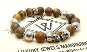 bracelet homme perle,bracelet tete de mort,bracelet homme,bracelet skull,tatoo skul,tattoo skull,skull,bracelet homme tendance 2020,bracelet hommme métal,bracelet homme fashion,déco skull,bracelet designer,bracelet biker,harley davidson,bracelet vintage