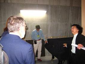コア音楽ホール ファツオリ・高谷先生