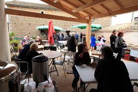 Marché de La ferme de La Pérotonnerie de Rom en Deux-Sèvres