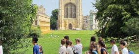 Des séjours linguistiques pendant l'été pour des adolescents de 14 à 17 ans à Cambridge Juniors avec Select English pour apprendre l'anglais