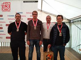 02.10.2016: 60. Final Schweizer Gruppenmeisterschaft Pistole 50m in Buchs
