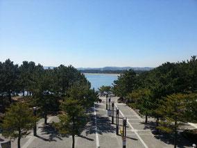 八景島シーパラダイス駅からの見晴らし