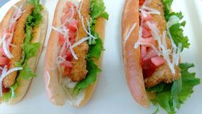 サンドイッチ 総菜パン だったらばクラブサンド ¥300