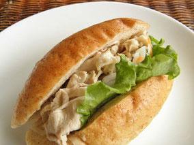 ゆで豚のベトナム風サンド