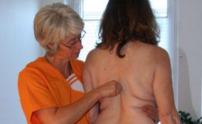 Dorntherapie der Brustwirbelsäule