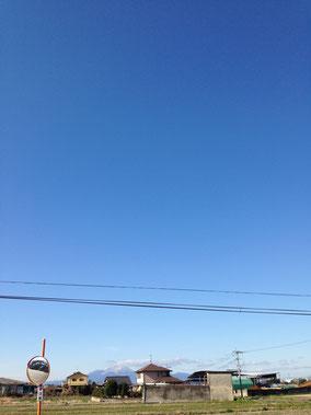 青空でした!!