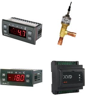 temperatura, control, refrigeración, transformador.