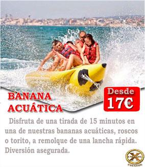 banana acuática en Conil