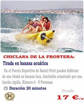 banana acuática en Conil de la frontera