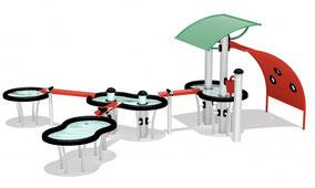 giochi d'acqua H2O4