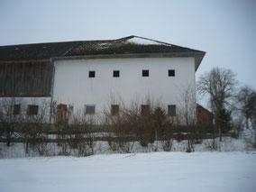 Kranz | Fassadengestaltung Vorher, Umbau Bauernhaus
