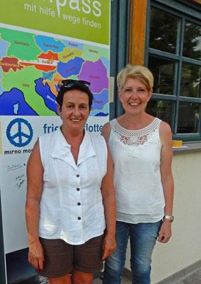 Dr. Barbara Draxler-Frühwirth und Eveline Tanzer