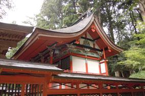 宍粟市で唯一の」国指定重要文化財御形神社(みかたじんじゃ)本殿