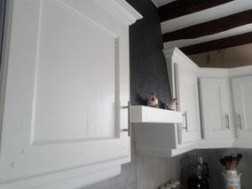 relooking de meubles cuisine bois blanc le mans sarthe m'elledecors