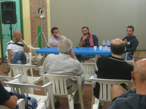 Il Presidente A.Freddo, D.Riva, F.Paglialunga e F.Toso