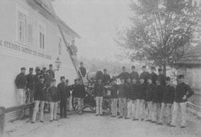 Die Mitglieder im Gründungsjahr 1892