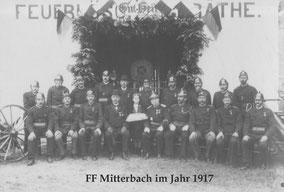 25jähriges Bestandsjubiläum im Jahr 1917