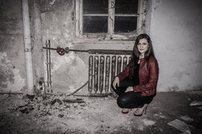 Lost Place Shooting mit Model