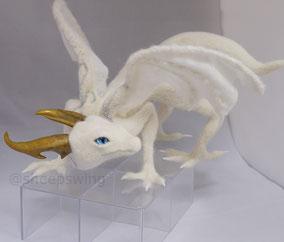 羊毛フェルト オーダー ドラゴン 龍