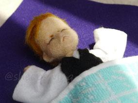 羊毛フェルト 刀剣乱舞 岩融 ベビー 人形