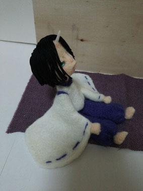 創作節分鬼 羊毛フェルト 鬼 人形