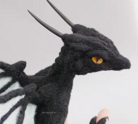 羊毛フェルト リアル ドラゴン オーダー