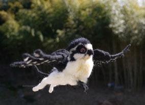 羊毛フェルト グリフォン 幻獣