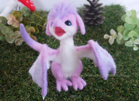 羊毛フェルト ドラゴン 手乗り 赤ちゃん