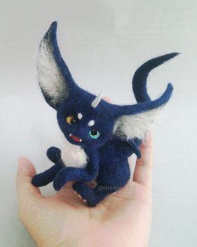 羊毛フェルト ドラゴン 小さい 幻獣