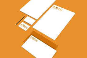 Beispiel für eine Geschäftsausstattung von Röben Printmedien in Neuenkirchen
