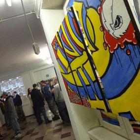 urban art, graffiti, streetart, street art, exhibition