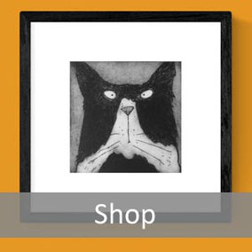fun animal art prints artwork shop